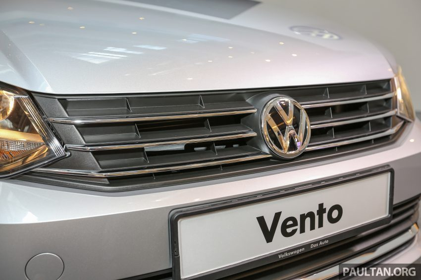 Volkswagen Vento launched – facelifted Polo Sedan, 1.2 TSI, DSG, ESP; RM80,646 to RM94,461 Image #495664