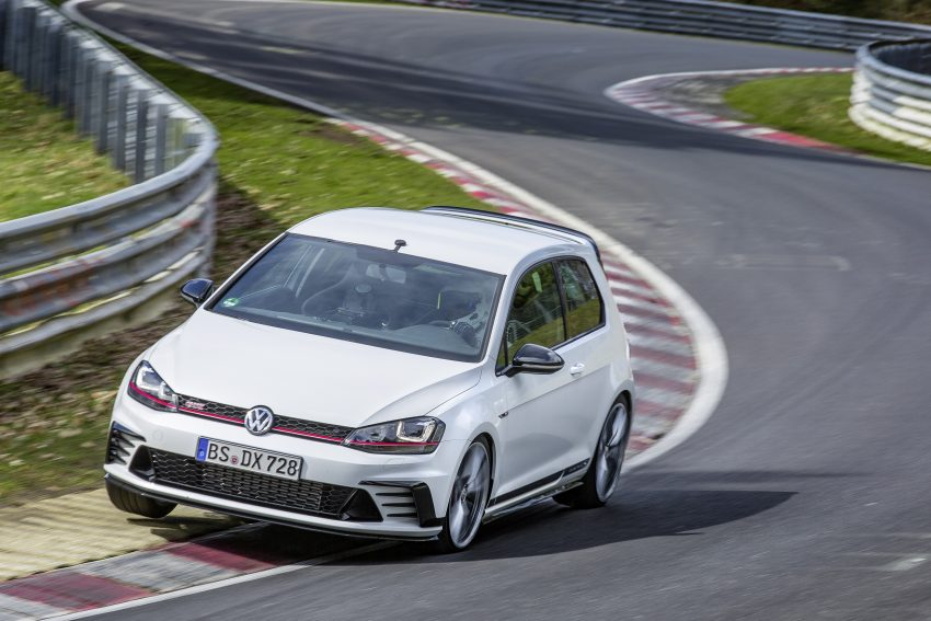 Volkswagen Golf GTI Clubsport S revealed – 310 PS hot hatch breaks Civic Type R Nurburgring record Image #487503