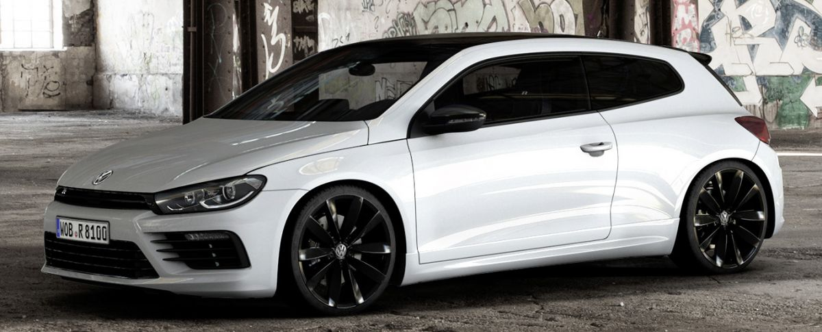 Volkswagen Scirocco R Black Style Package Unveiled