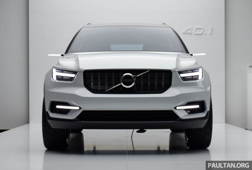 GALLERY: Volvo 40.1 concept previews all-new XC40 Image #497362