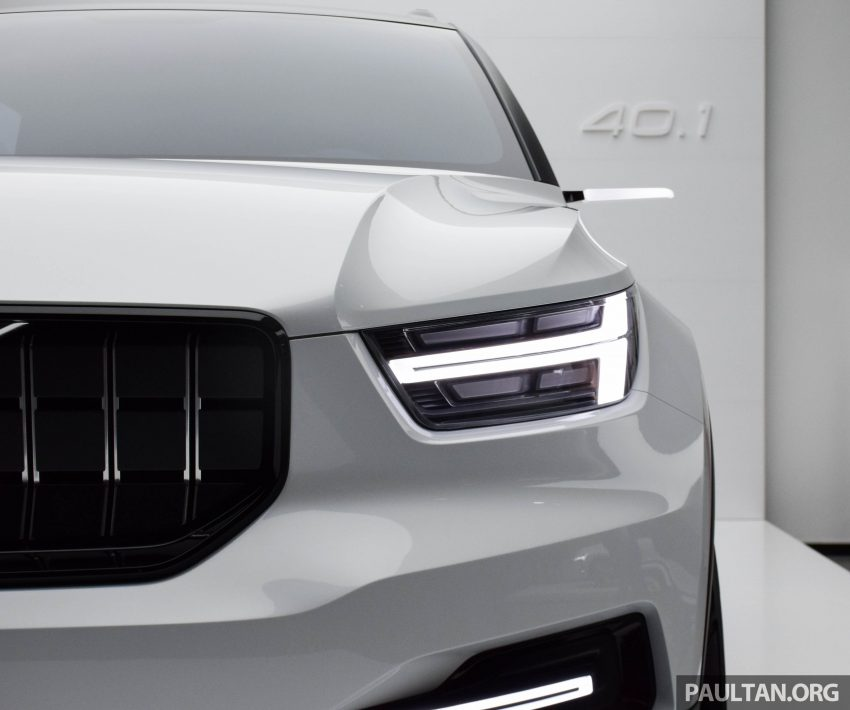 GALLERY: Volvo 40.1 concept previews all-new XC40 Image #497371
