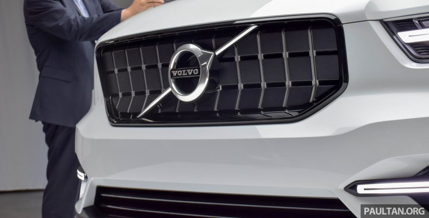 GALLERY: Volvo 40.1 concept previews all-new XC40 Image #497374