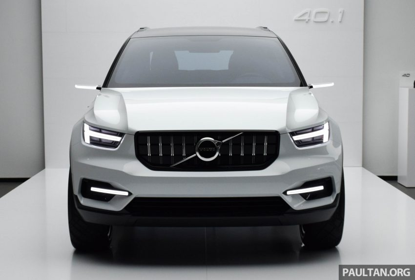 GALLERY: Volvo 40.1 concept previews all-new XC40 Image #497363