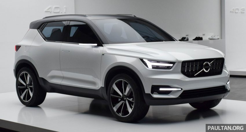 GALLERY: Volvo 40.1 concept previews all-new XC40 Image #497365