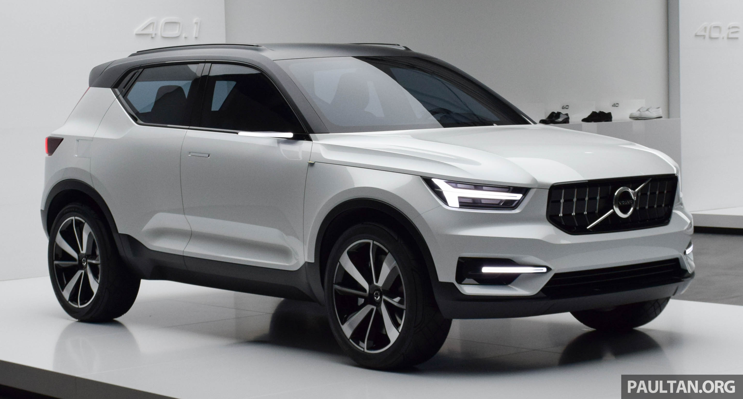 New Volvo S40 2018 >> GALLERY: Volvo 40.1 concept previews all-new XC40 Image 497365