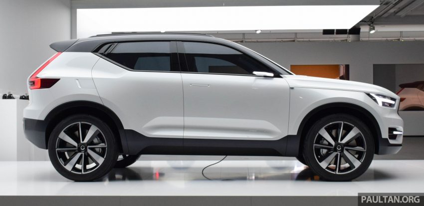 GALLERY: Volvo 40.1 concept previews all-new XC40 Image #497366