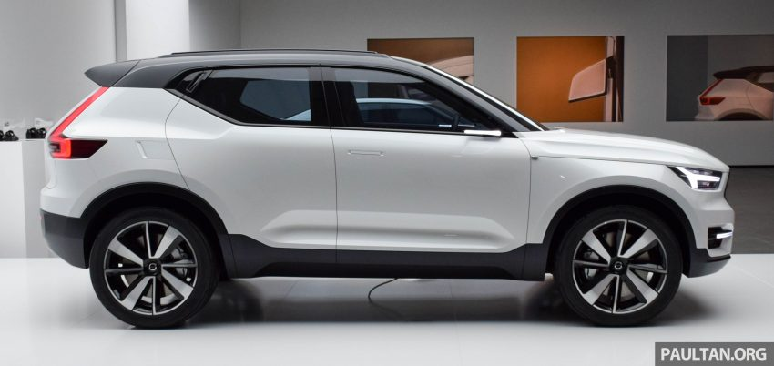 GALLERY: Volvo 40.1 concept previews all-new XC40 Image #497367
