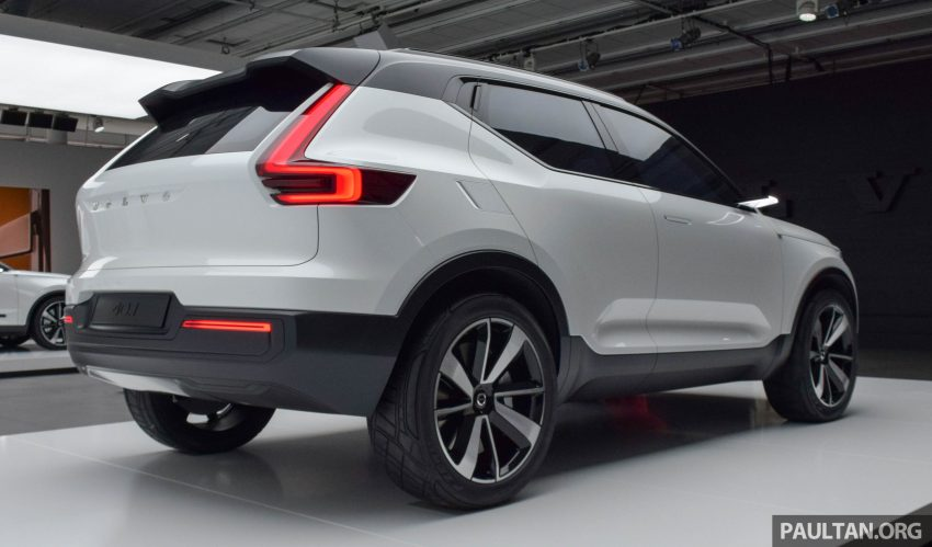 GALLERY: Volvo 40.1 concept previews all-new XC40 Image #497368
