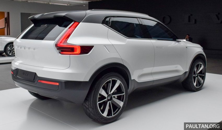 GALLERY: Volvo 40.1 concept previews all-new XC40 Image #497369