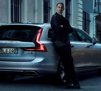 Volvo Cars' new V90 campaign features footballing legend Zlata