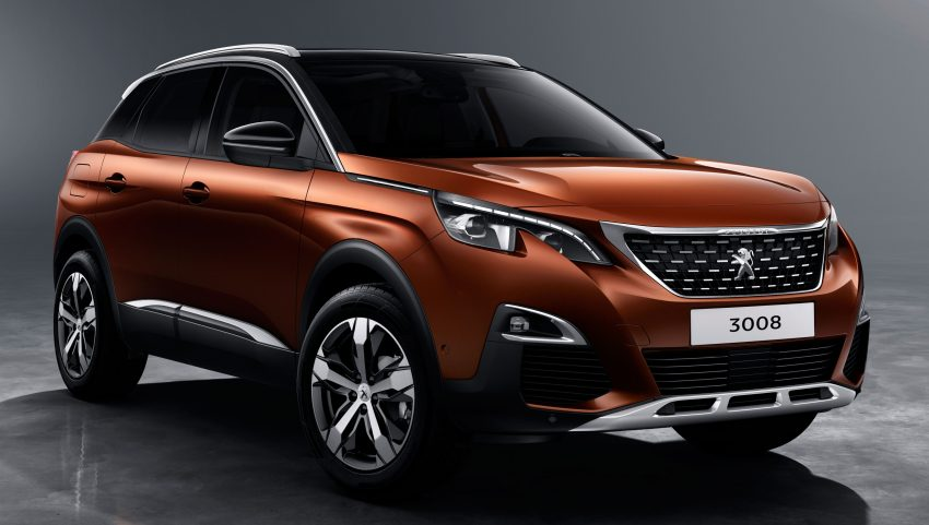 Peugeot 3008 – second-gen SUV debuts in Paris Image #497478