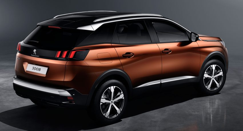 Peugeot 3008 – second-gen SUV debuts in Paris Image #497477