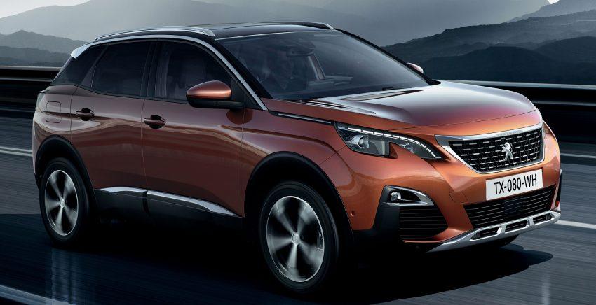 Peugeot 3008 – second-gen SUV debuts in Paris Image #497475