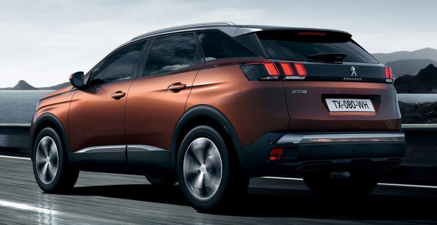 Peugeot 3008 – second-gen SUV debuts in Paris Image #497474
