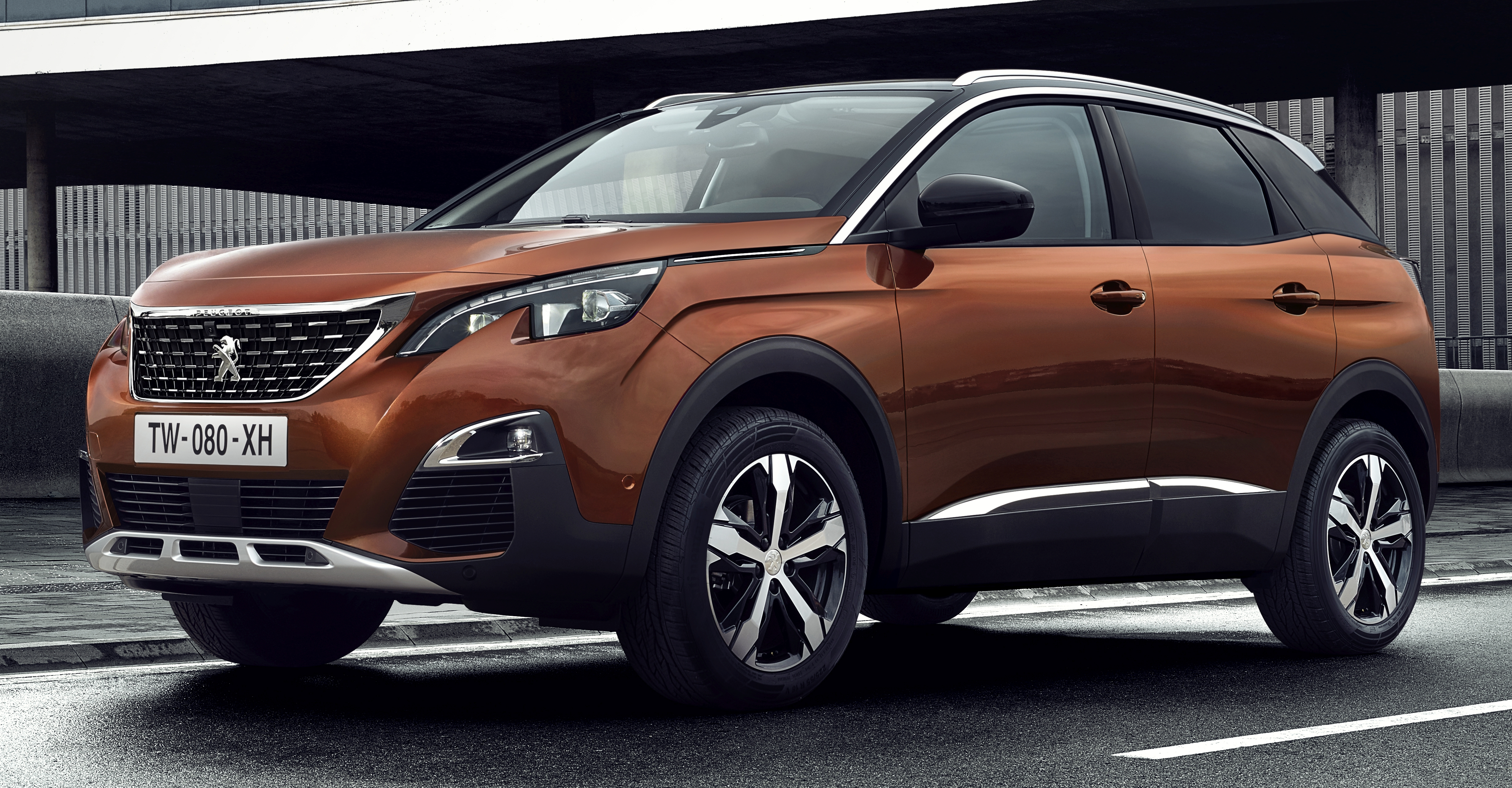 peugeot 3008 second gen suv debuts in paris image 497543. Black Bedroom Furniture Sets. Home Design Ideas