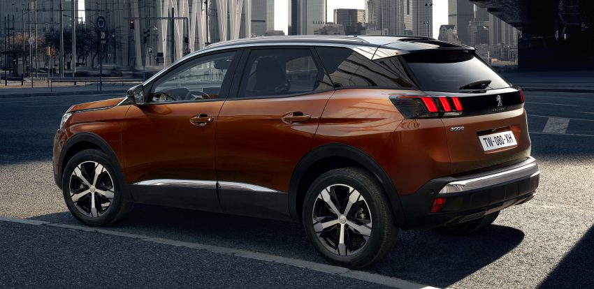 Peugeot 3008 – second-gen SUV debuts in Paris Image #497541