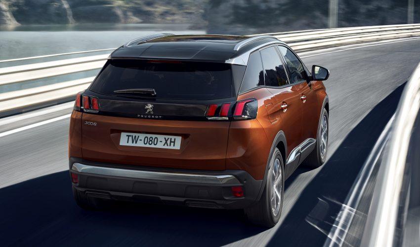 Peugeot 3008 – second-gen SUV debuts in Paris Image #497538