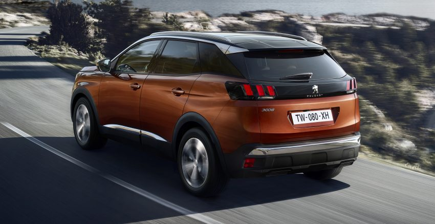 Peugeot 3008 – second-gen SUV debuts in Paris Image #497535