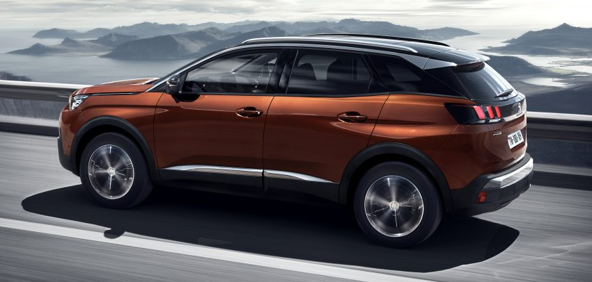 Peugeot 3008 – second-gen SUV debuts in Paris Image #497533
