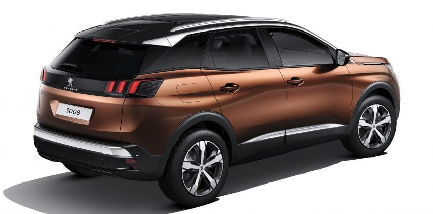 Peugeot 3008 – second-gen SUV debuts in Paris Image #497524