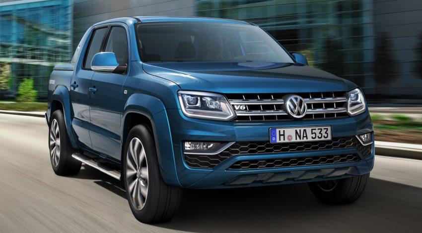 Volkswagen Amarok facelift – new images released Image #499313