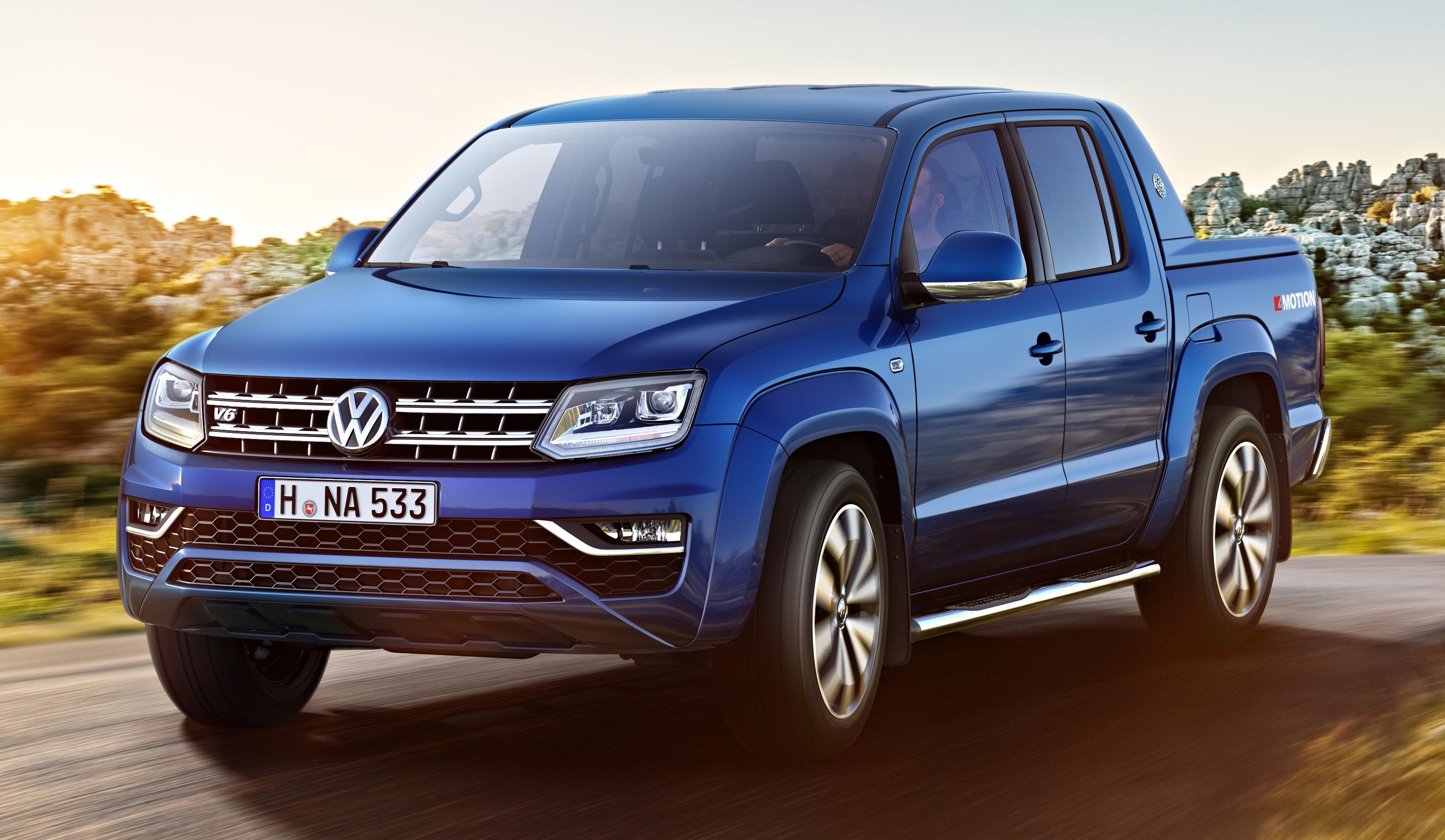 Volkswagen Amarok Facelift New Images Released Image 499310