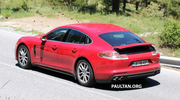 '17 Panamera spied - 10