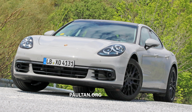 '17 Panamera spied - 2