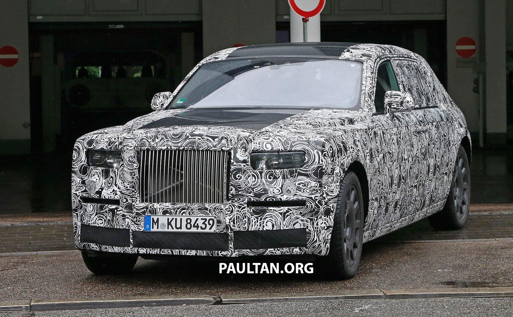 2017 Rolls Royce Phantom >> SPIED: 2017 Rolls-Royce Phantom, including interior Image 505269
