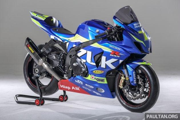 feature setting up a superbike race machine suzuki gsx r1000 l5