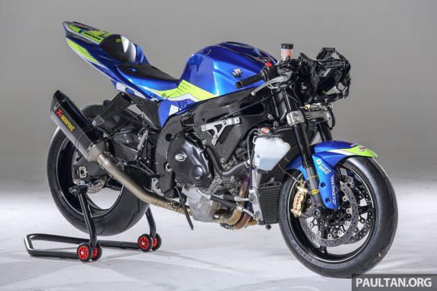 FEATURE: Setting up a Superbike race machine - Suzuki GSX