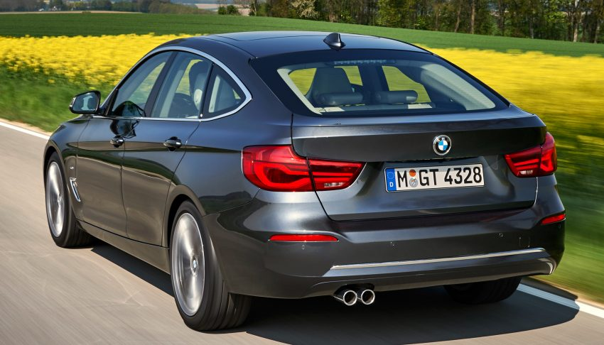 F34 BMW 3 Series GT LCI facelift – new looks and kit Image #502270