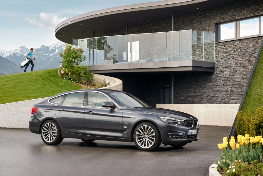 F34 BMW 3 Series GT LCI facelift – new looks and kit Image #502293