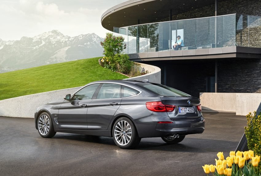 F34 BMW 3 Series GT LCI facelift – new looks and kit Image #502288