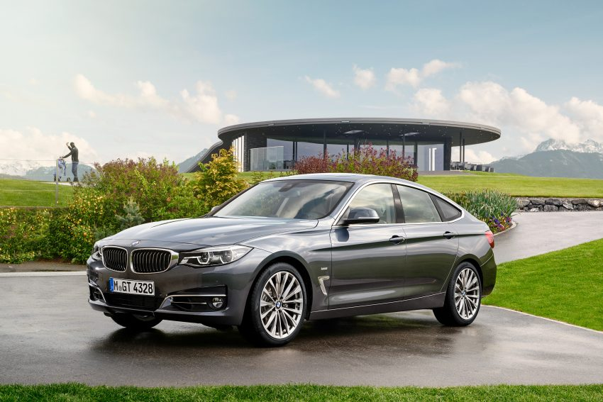 F34 BMW 3 Series GT LCI facelift – new looks and kit Image #502289