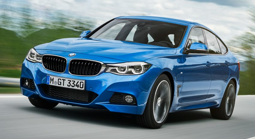 F34 BMW 3 Series GT LCI facelift – new looks and kit Image #502233