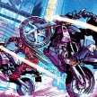 2016 BMW G310 R - Riders in the storm graphic novel crop