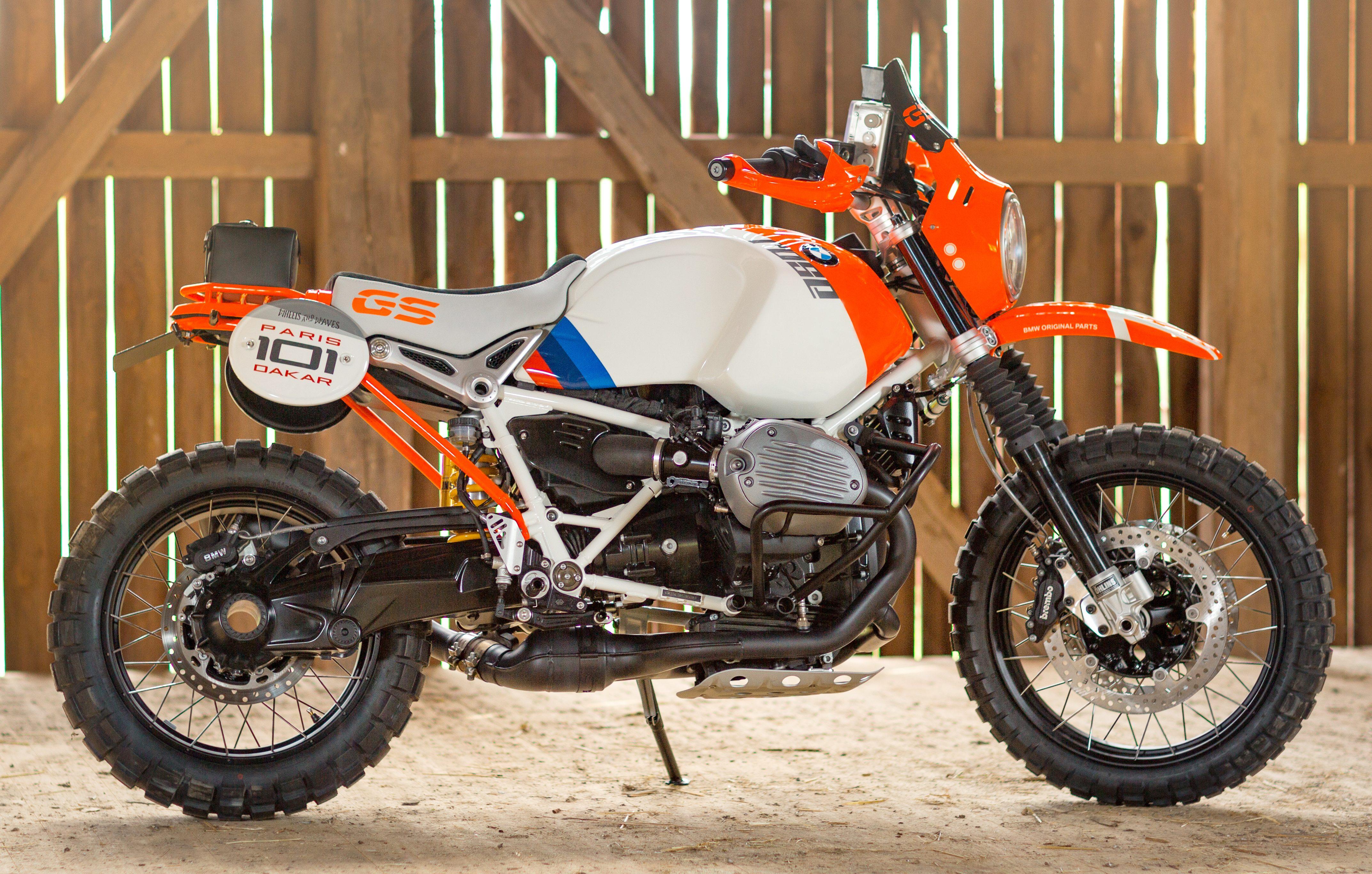 Bmw R Nin T >> BMW Motorrad Concept Lac Rose – an R nineT G/S Image 505688