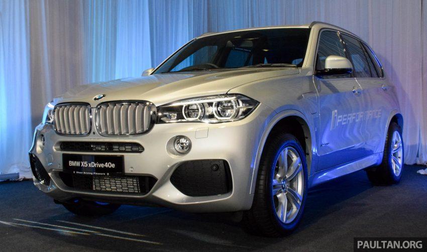 F15 BMW X5 xDrive40e M Sport plug-in hybrid SUV launched in Malaysia – RM388,800 OTR w/o insurance Image #511874