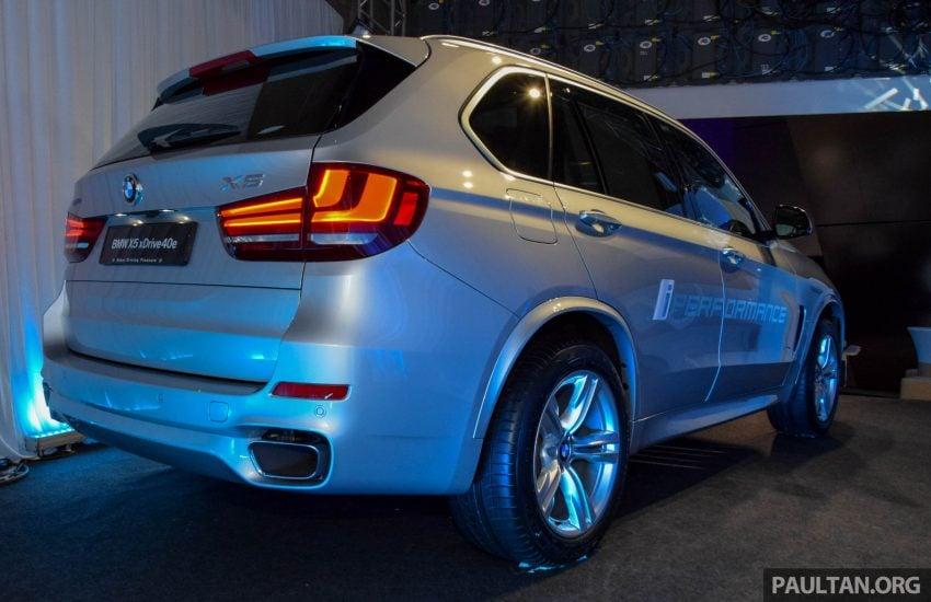 F15 BMW X5 xDrive40e M Sport plug-in hybrid SUV launched in Malaysia – RM388,800 OTR w/o insurance Image #511875