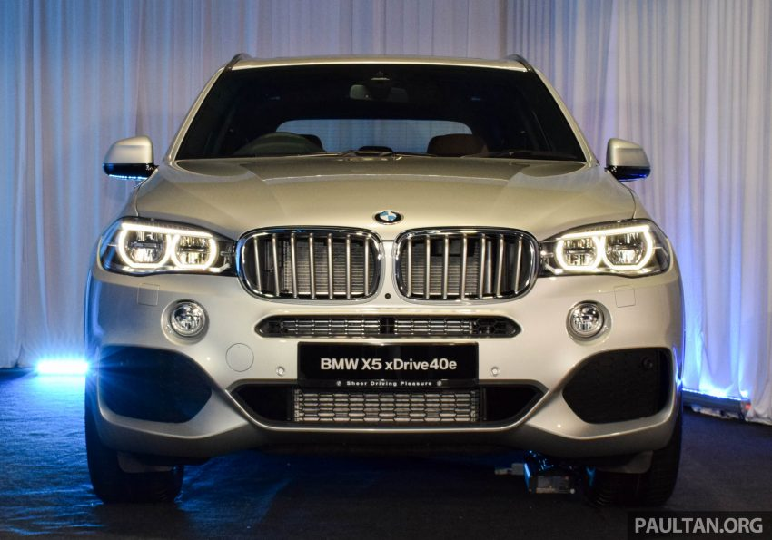 F15 BMW X5 xDrive40e M Sport plug-in hybrid SUV launched in Malaysia – RM388,800 OTR w/o insurance Image #511876