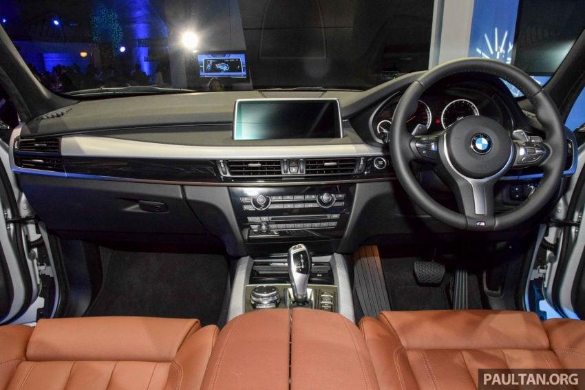 F15 BMW X5 xDrive40e M Sport plug-in hybrid SUV launched in Malaysia – RM388,800 OTR w/o insurance Image #511894