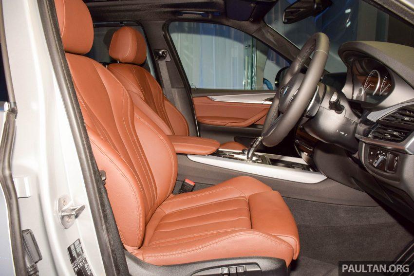 F15 BMW X5 xDrive40e M Sport plug-in hybrid SUV launched in Malaysia – RM388,800 OTR w/o insurance Image #511911