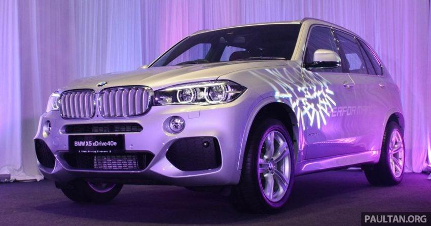F15 BMW X5 xDrive40e M Sport plug-in hybrid SUV launched in Malaysia – RM388,800 OTR w/o insurance Image #511856