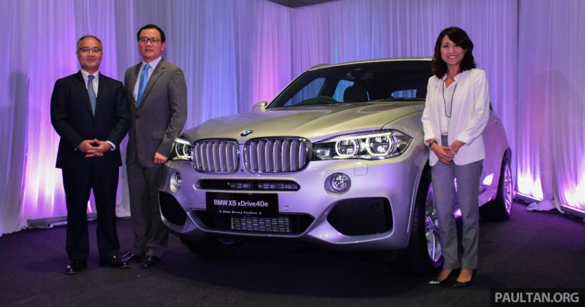 F15 BMW X5 xDrive40e M Sport plug-in hybrid SUV launched in Malaysia – RM388,800 OTR w/o insurance Image #511858