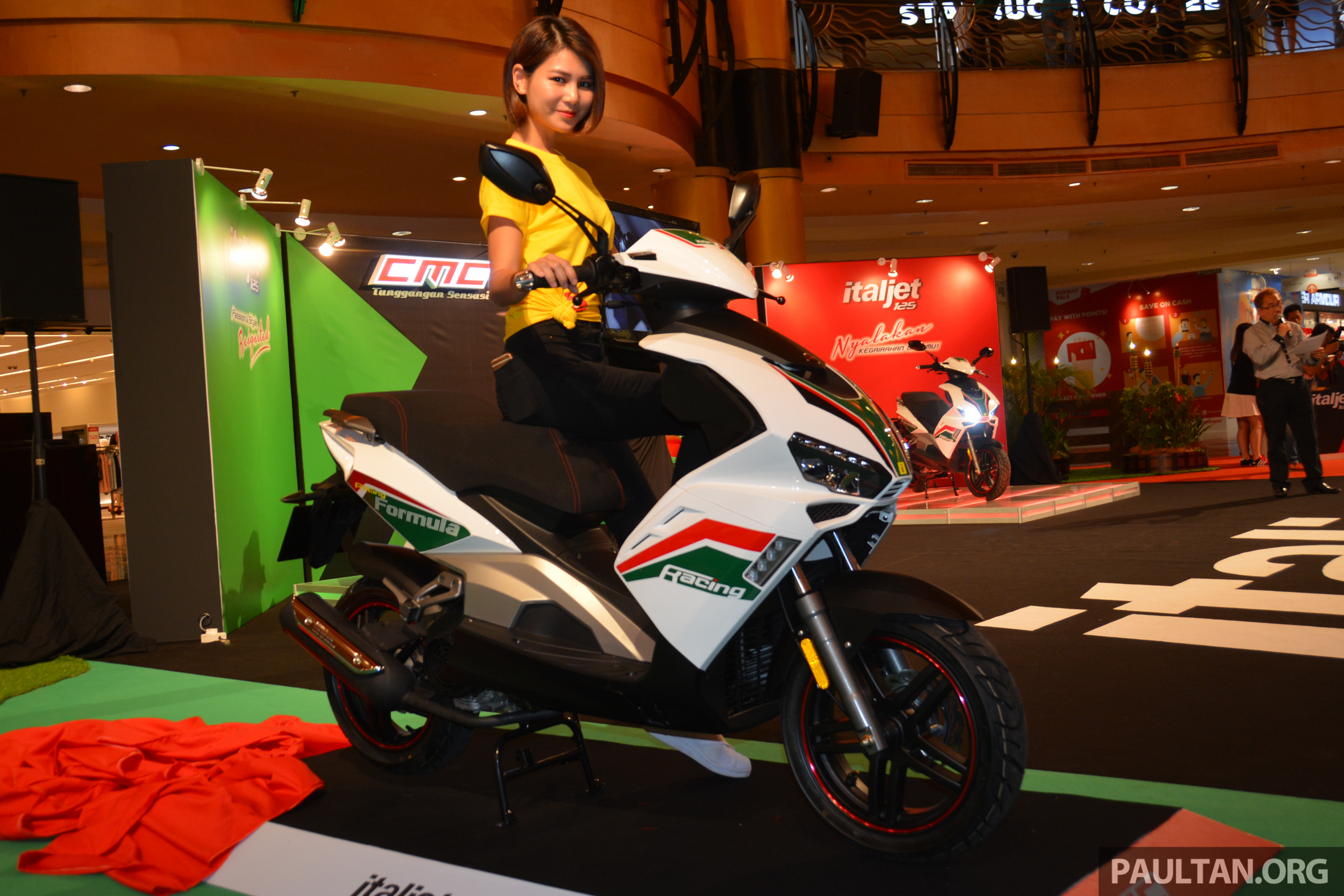 Local Market Tool >> 2016 CMC Italjet 125 scooter in Malaysia - RM6,996