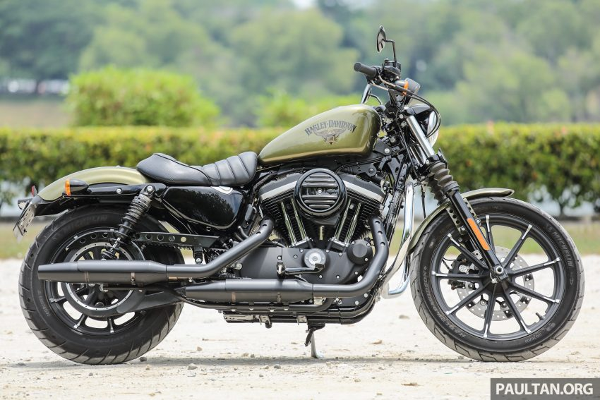 REVIEW: 2016 Harley-Davidson Sportster Iron 883 – not your