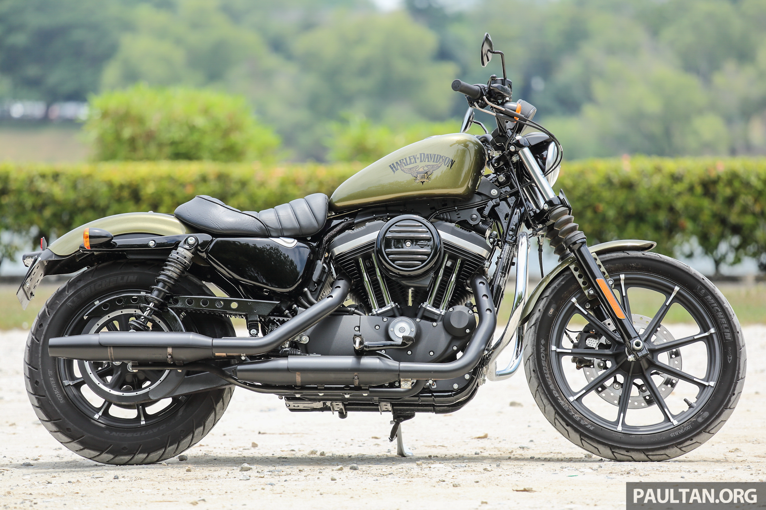 REVIEW 2016 Harley Davidson Sportster Iron 883 Not Your Grandfathers