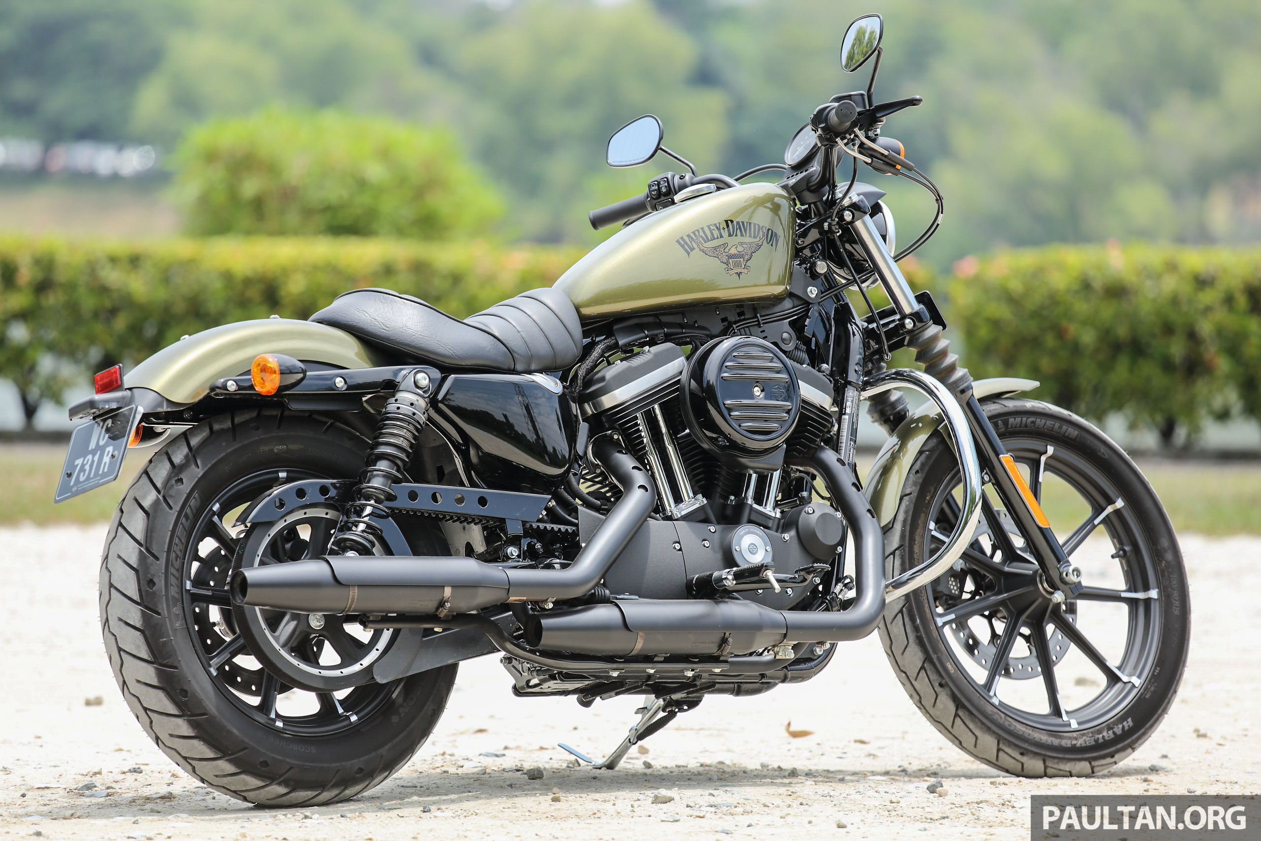 harley-davidson sportster iron | motorcycle wallpaper