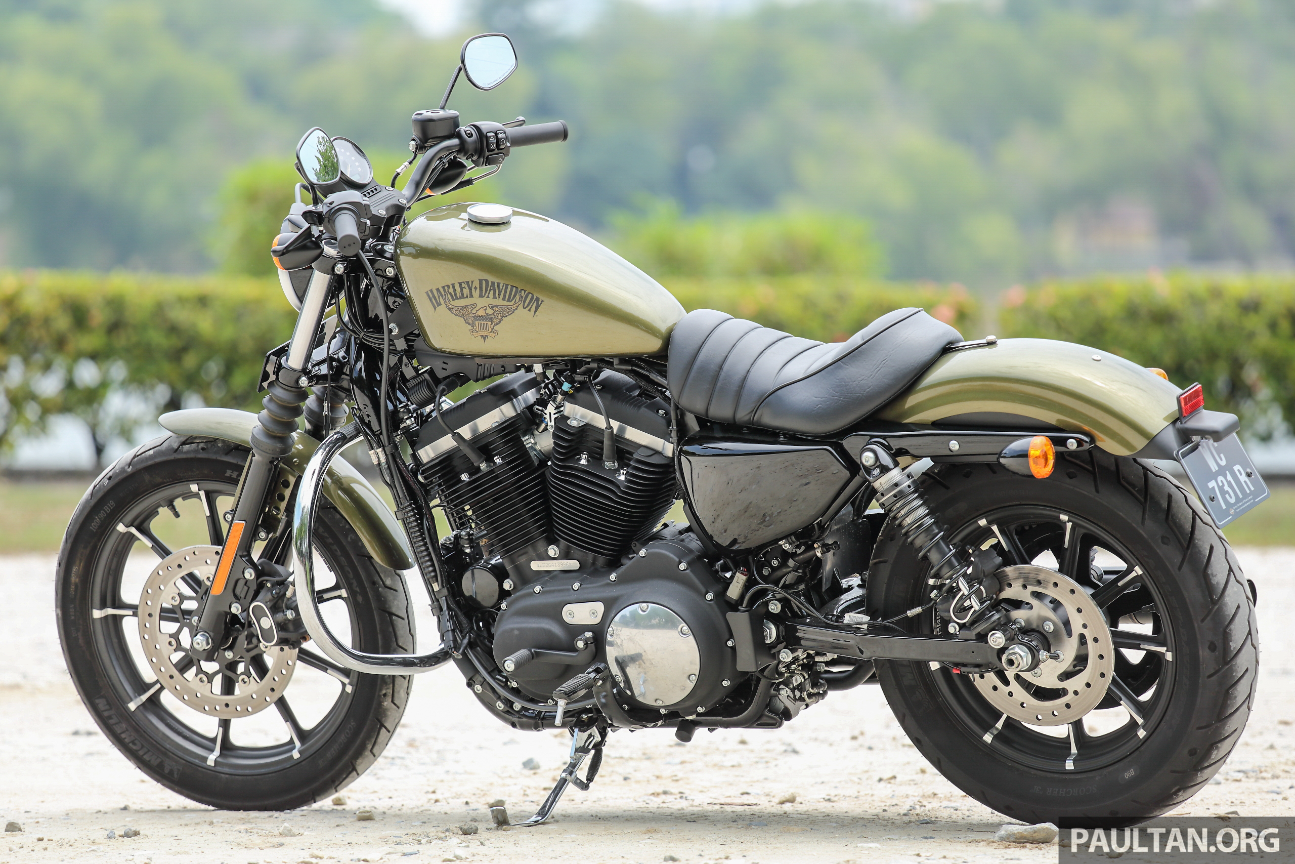 Harley Davidson Sportster  Iron Review